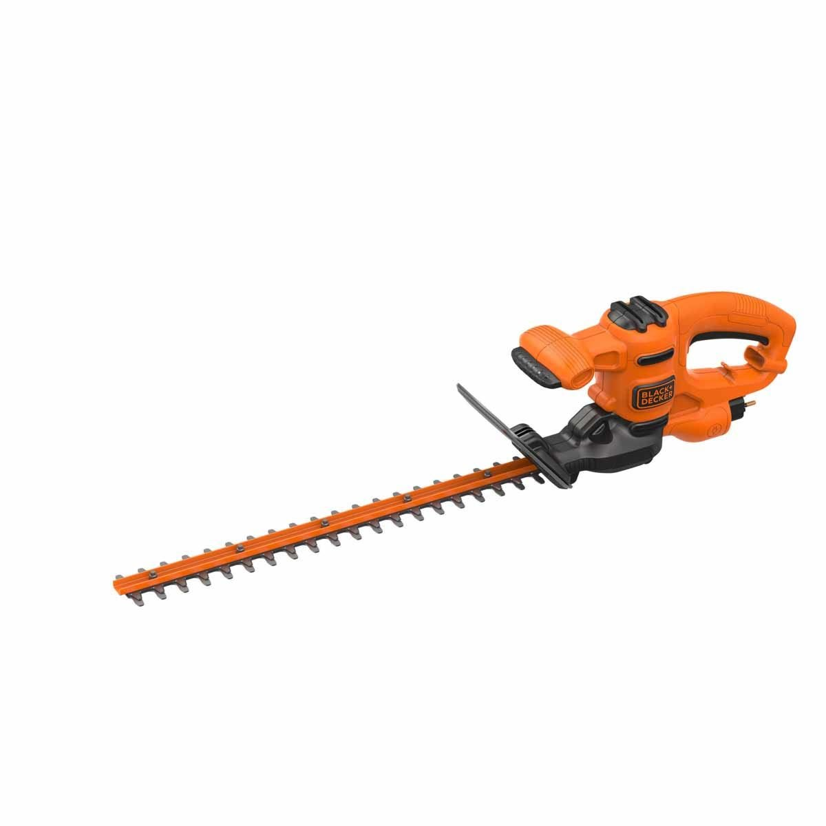 Black and Decker 420w Corded 45cm Hedge Trimmer