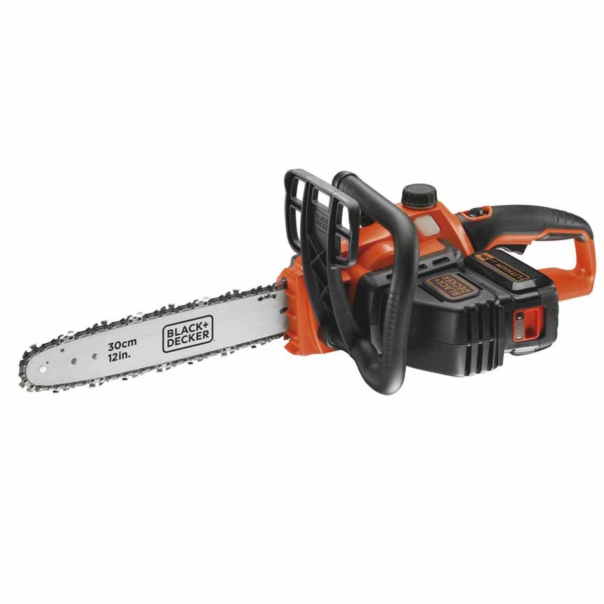 Black and Decker 36v Cordless 30cm Chainsaw