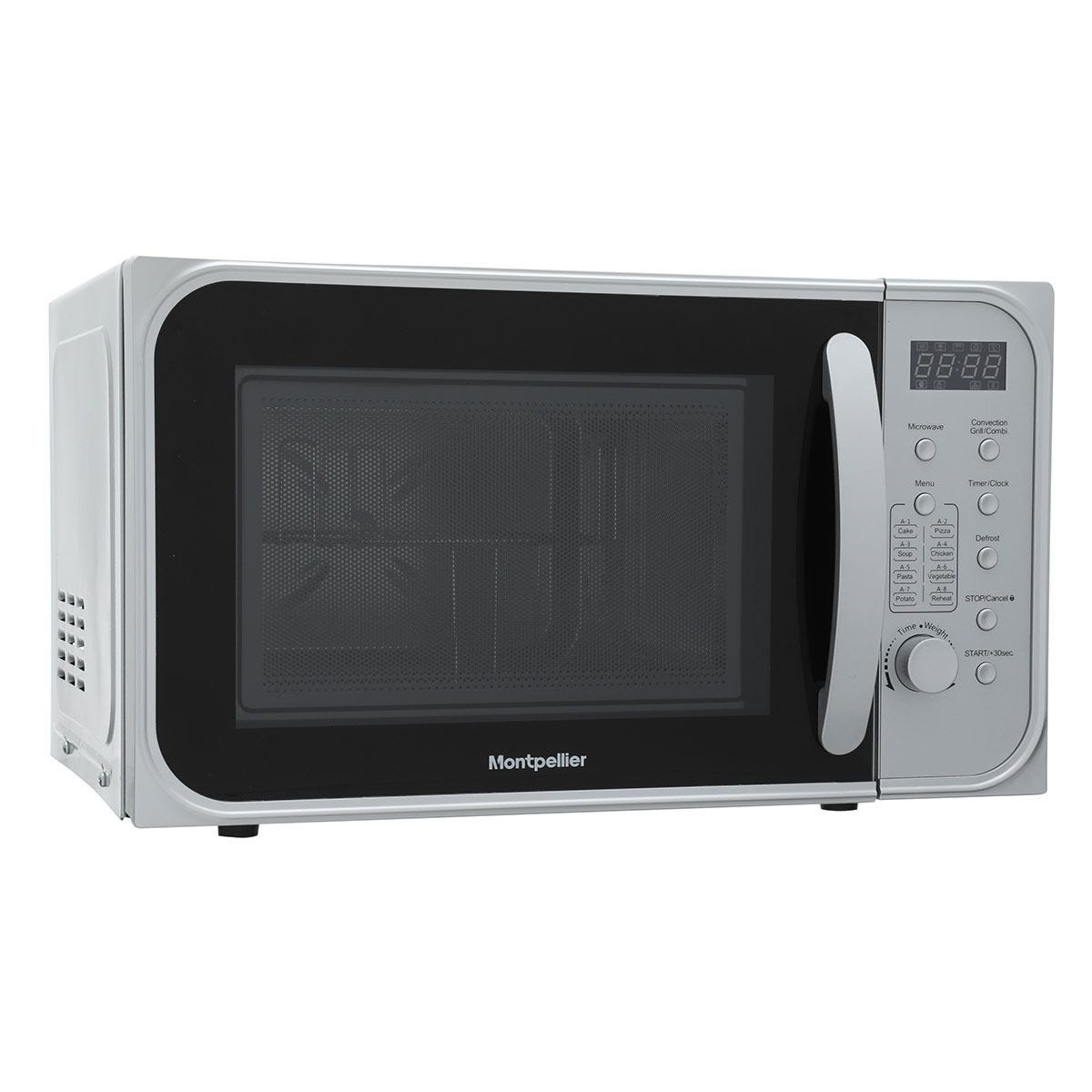Montpellier MCM21SSC 1200W 21L Combination Microwave - Silver