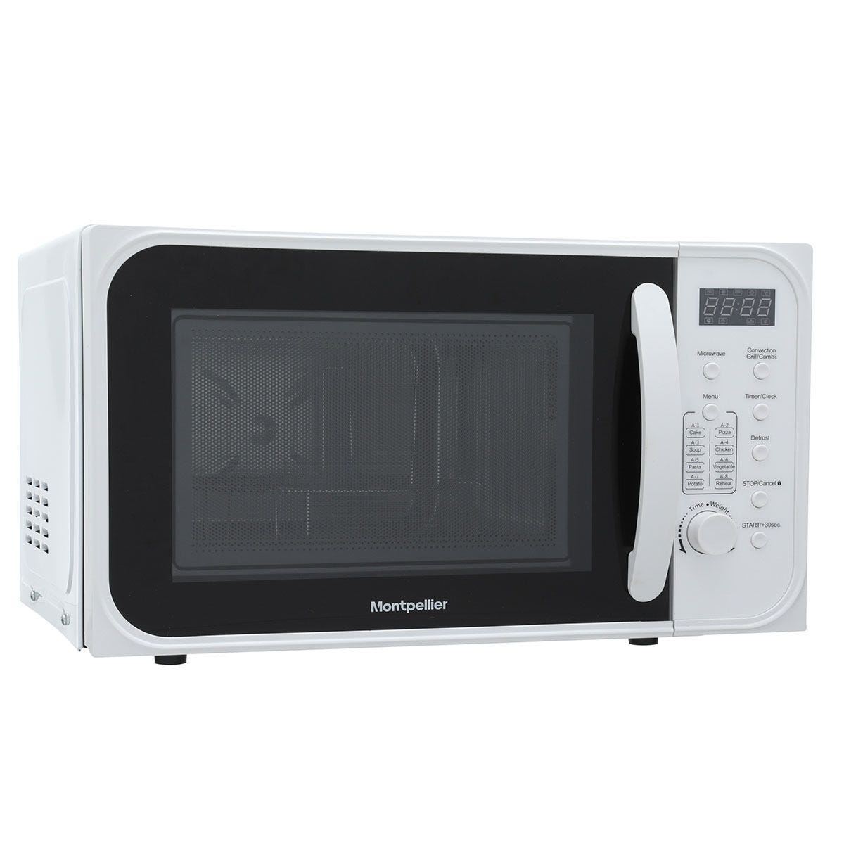 Montpellier MCM21SWSC 1200W 21L Combination Microwave - White