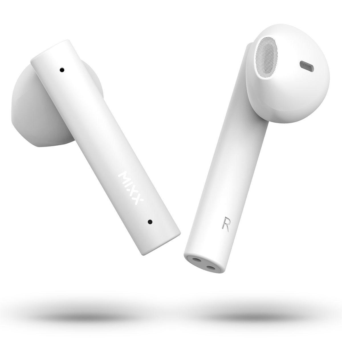 Mixx Streambuds Air True Wireless Earbuds - Vanilla Ice White