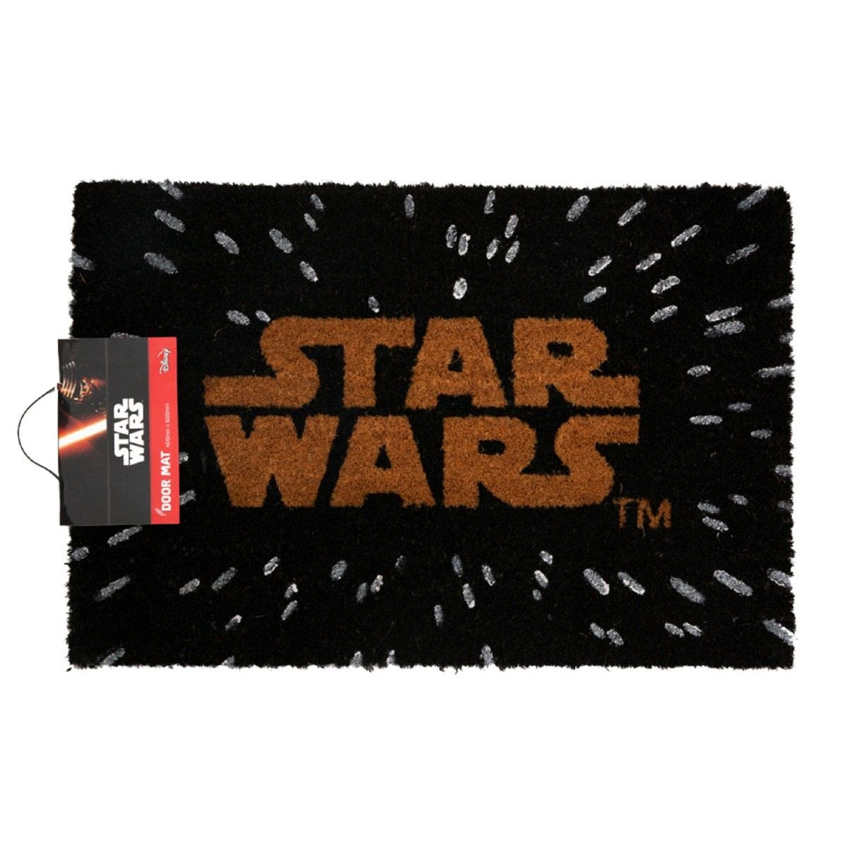 Star Wars Logo Doormat - Black