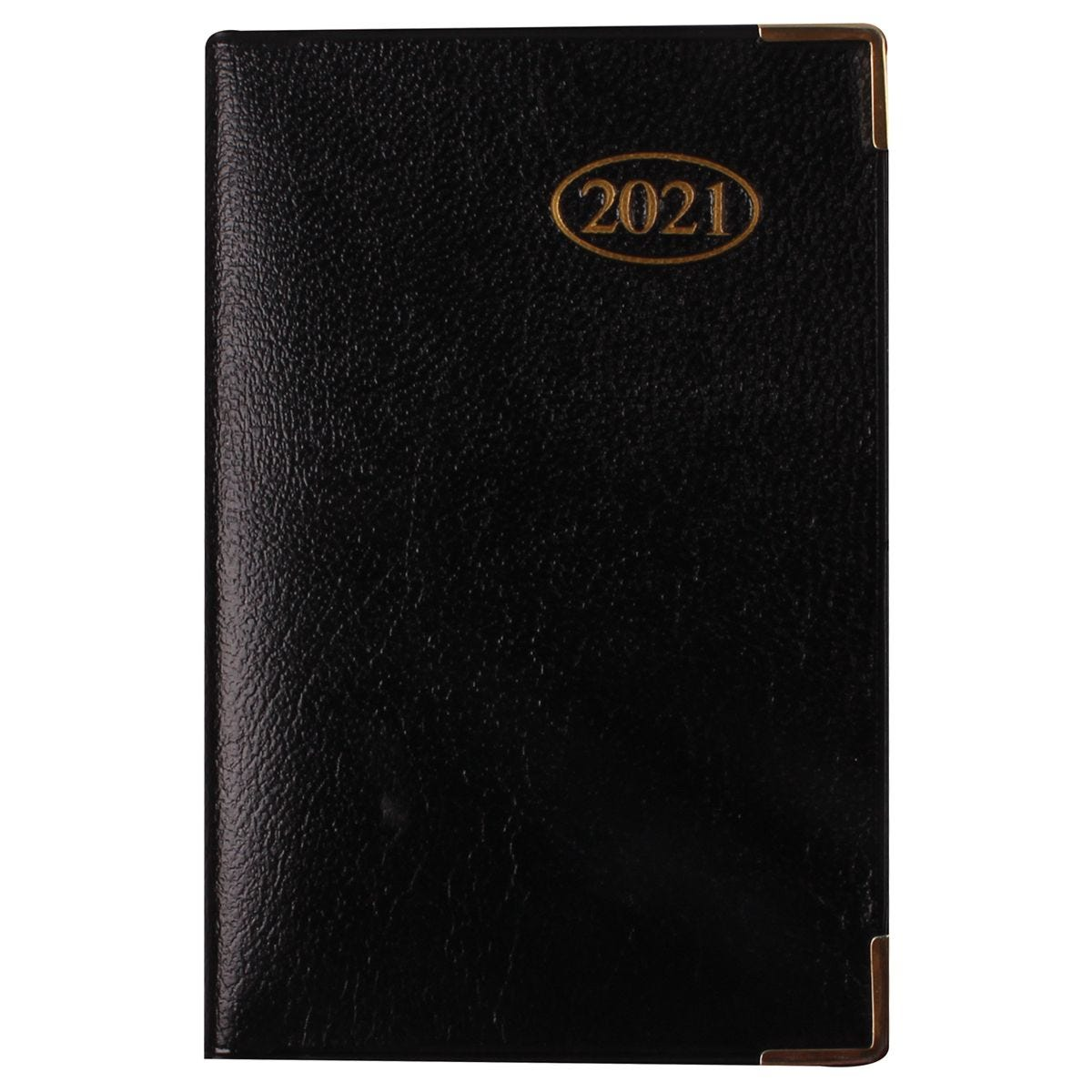 Ryman Executive Pocket Diary Week to View 2021 - Black
