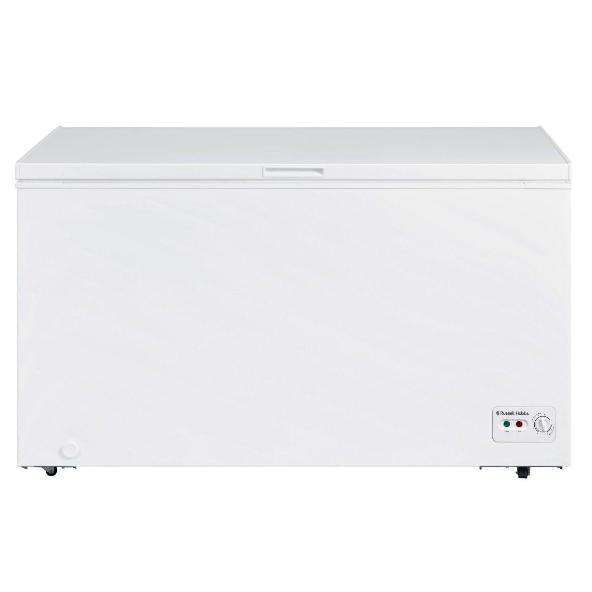 Russell Hobbs RHCF418 418L Chest Freezer - White