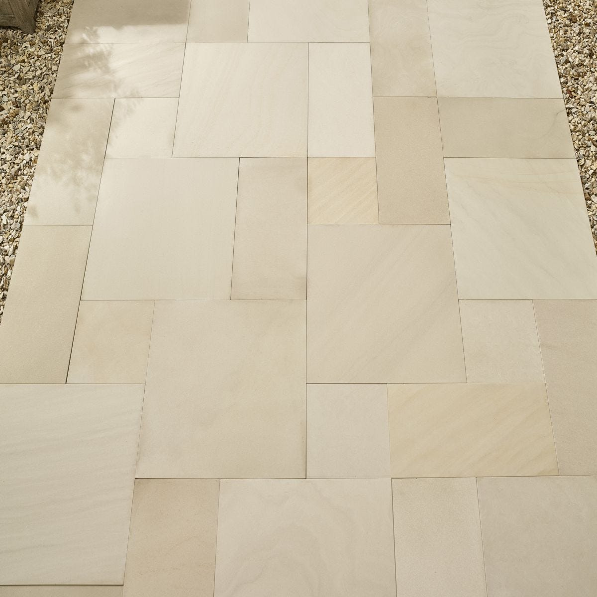 Kelkay Smooth Natural Sandstone 11.52m - Ivory White