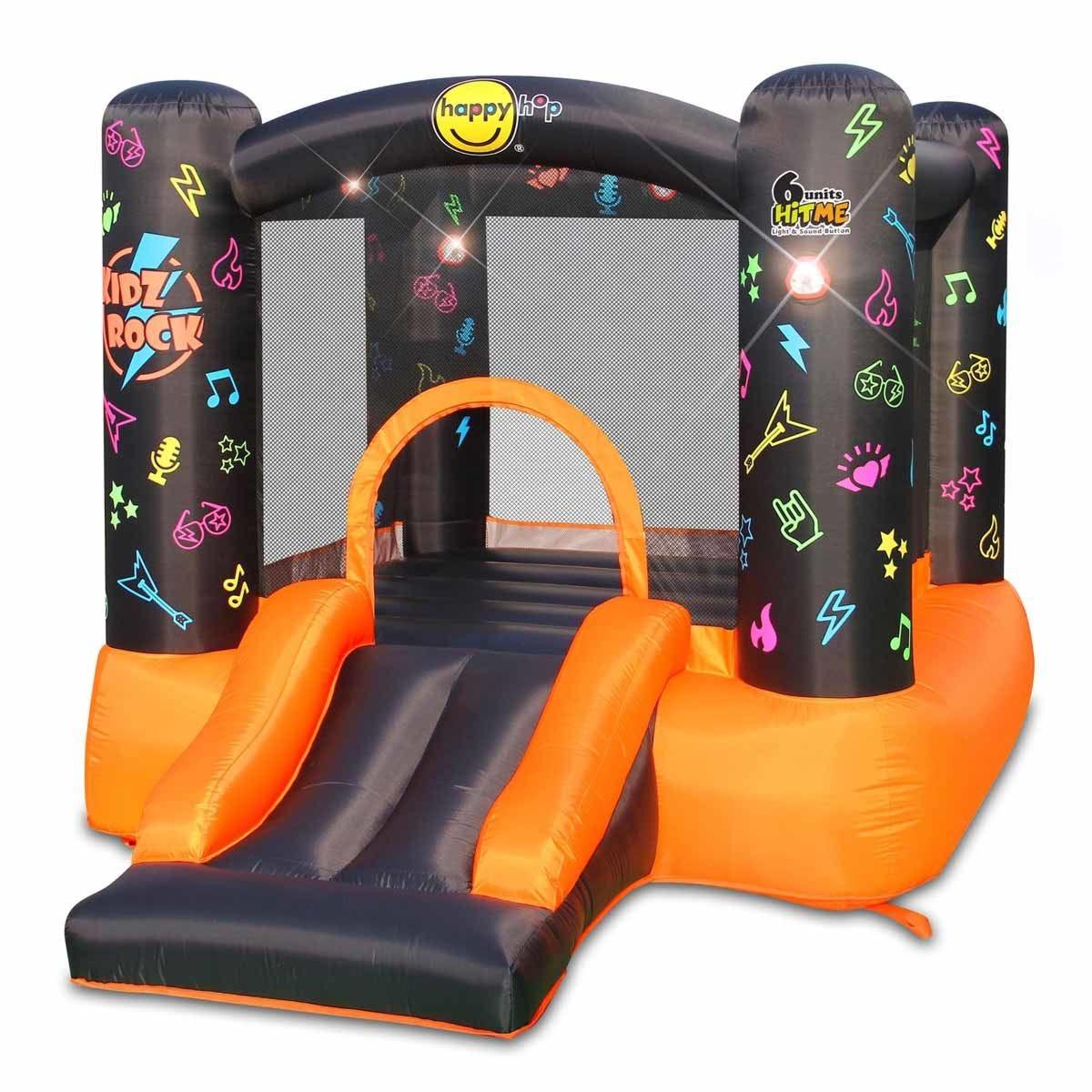 Happy Hop Kidz Rock Hit Me Inflatable Play Centre