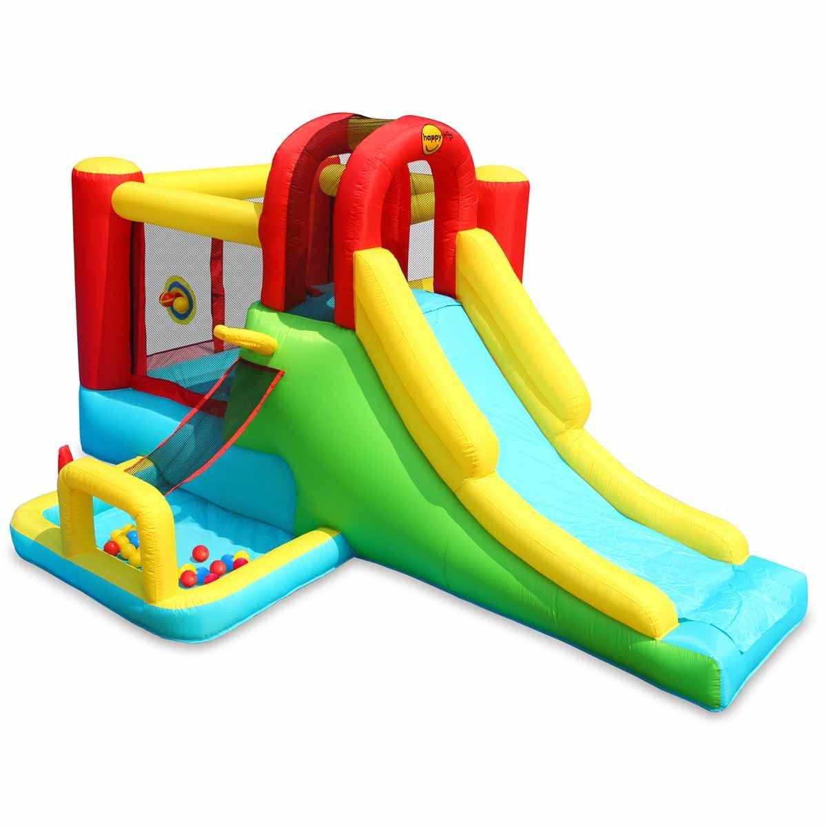 Happy Hop Inflatable Adventure Combo Play Centre with Slide