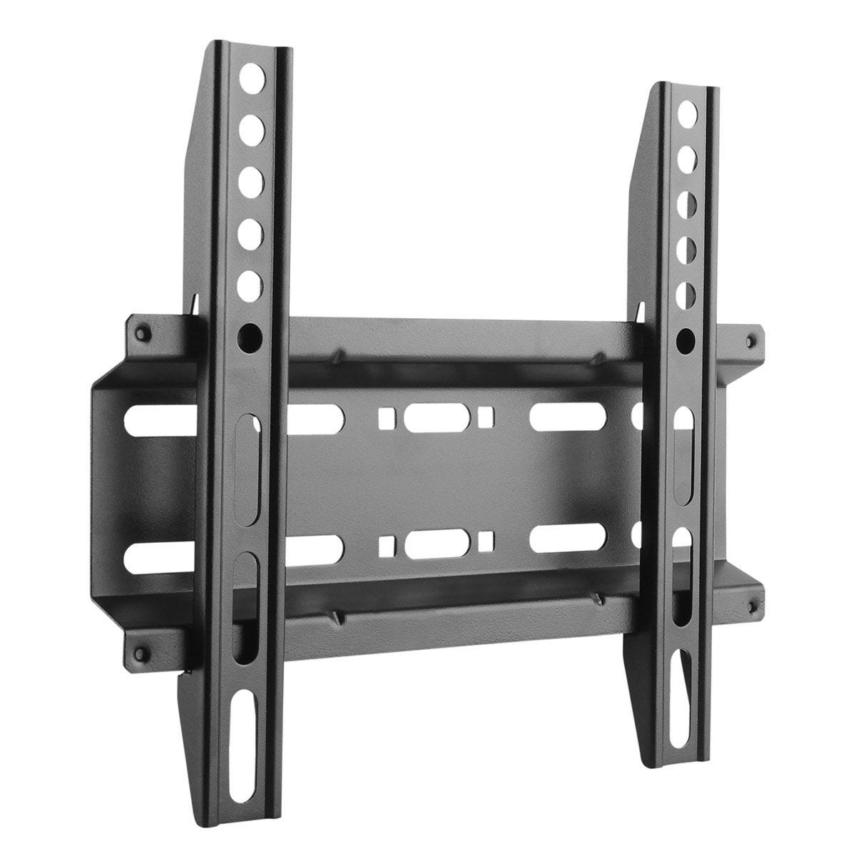 SBOX Fixed Wall Mount PLB-2522F for 23-43inch Flat Panel TV - Black
