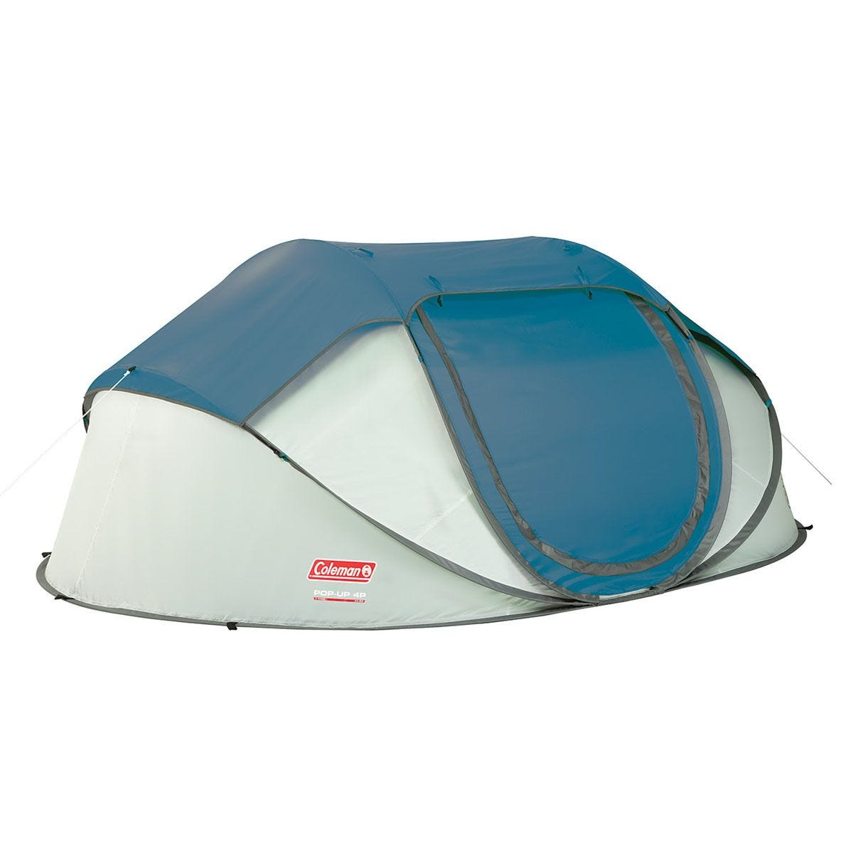 Coleman FastPitch Galiano 4 Person Pop Up Tent - Blue & Grey