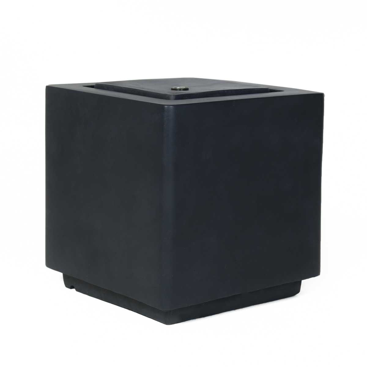 Charles Bentley Granite Cube Water Feature with LED lights
