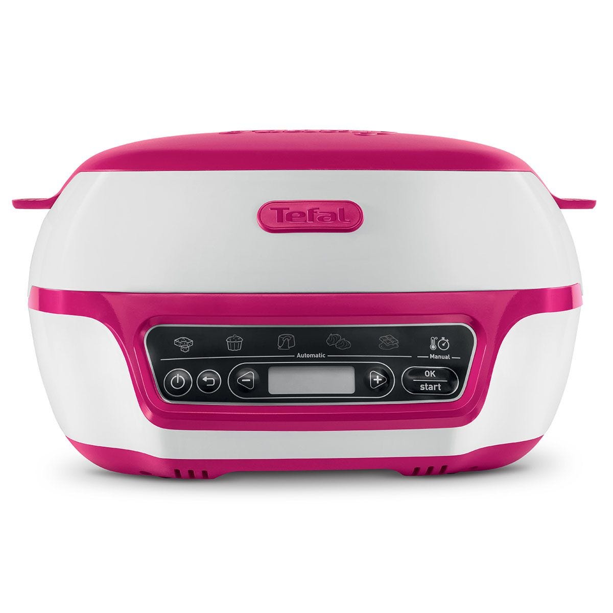 Tefal Bread & Cake Factory KD801840 Precision Bread and Cake Machine - Pink & White