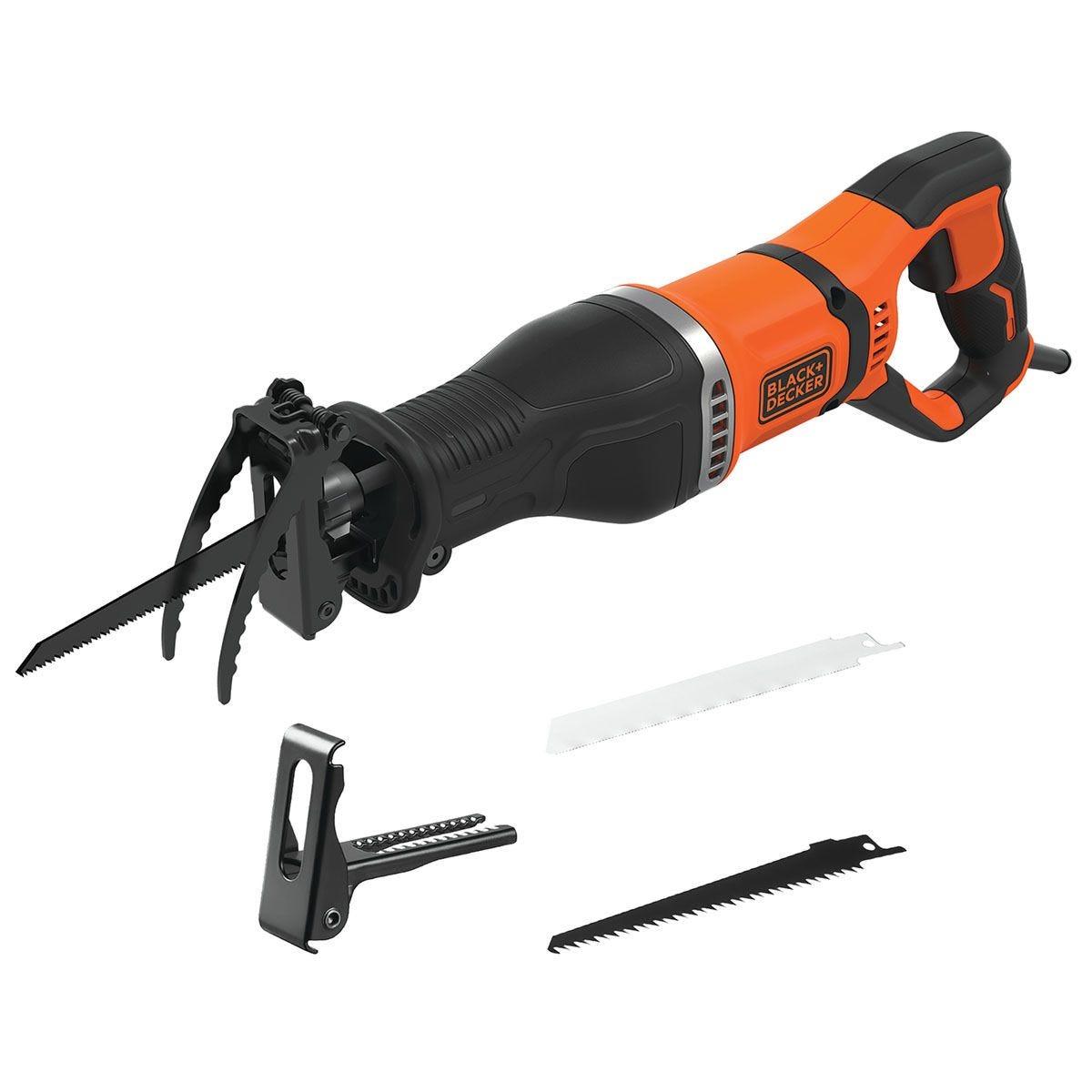 Black & Decker 750W Reciprocating Saw 240V - Orange