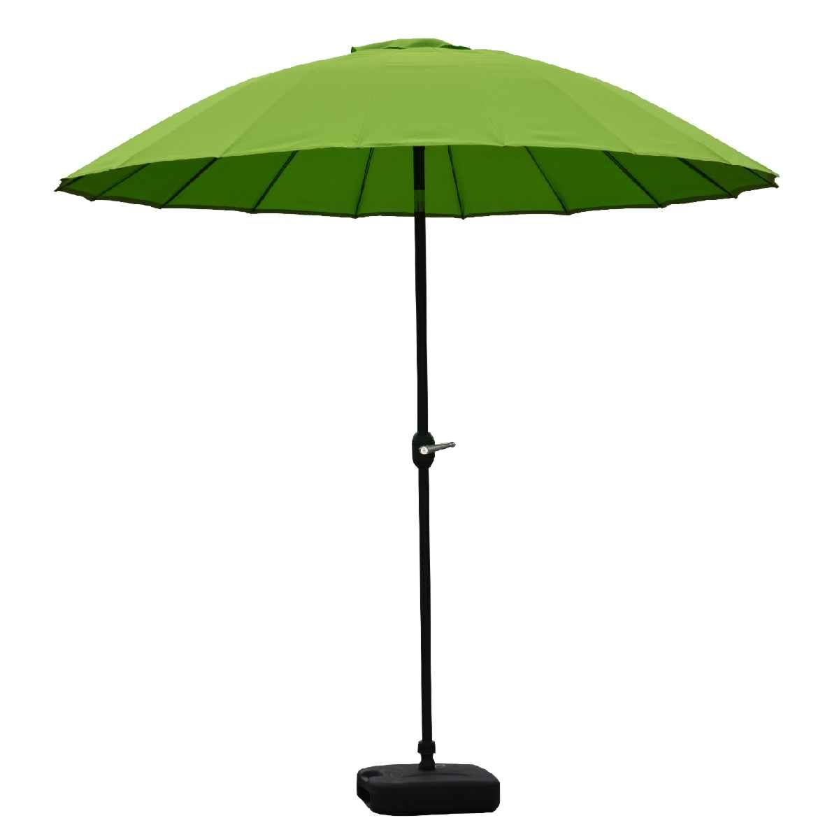 Garden Must Haves Blossom 2.5m Oriental Parasol - Lime