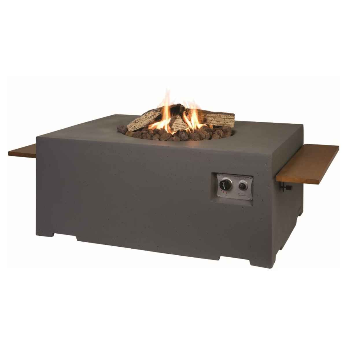 Happy Cocooning Rectangular Cocoon Fire Pit - Brown