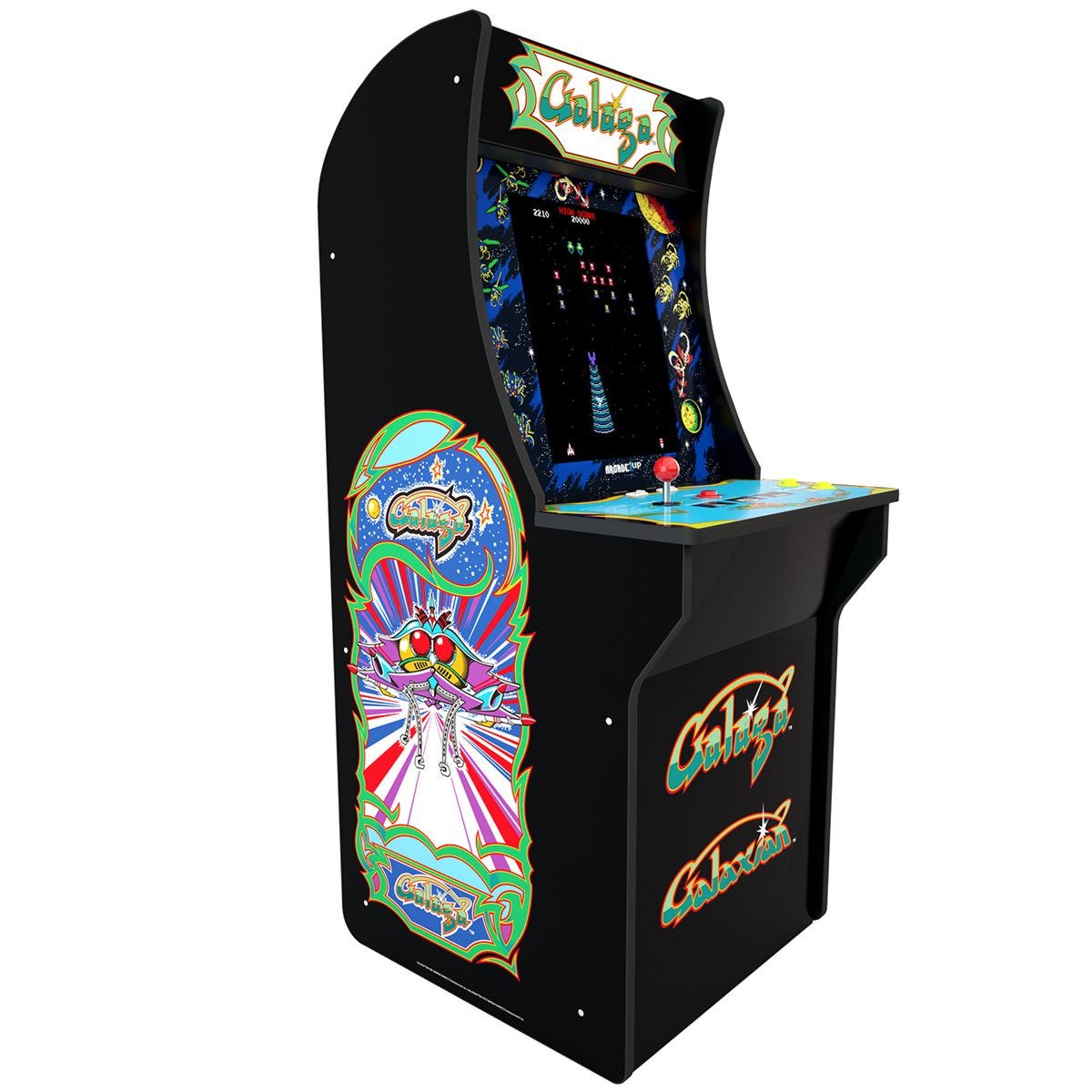 Arcade1Up Galaga Arcade Cabinet with Galaxian