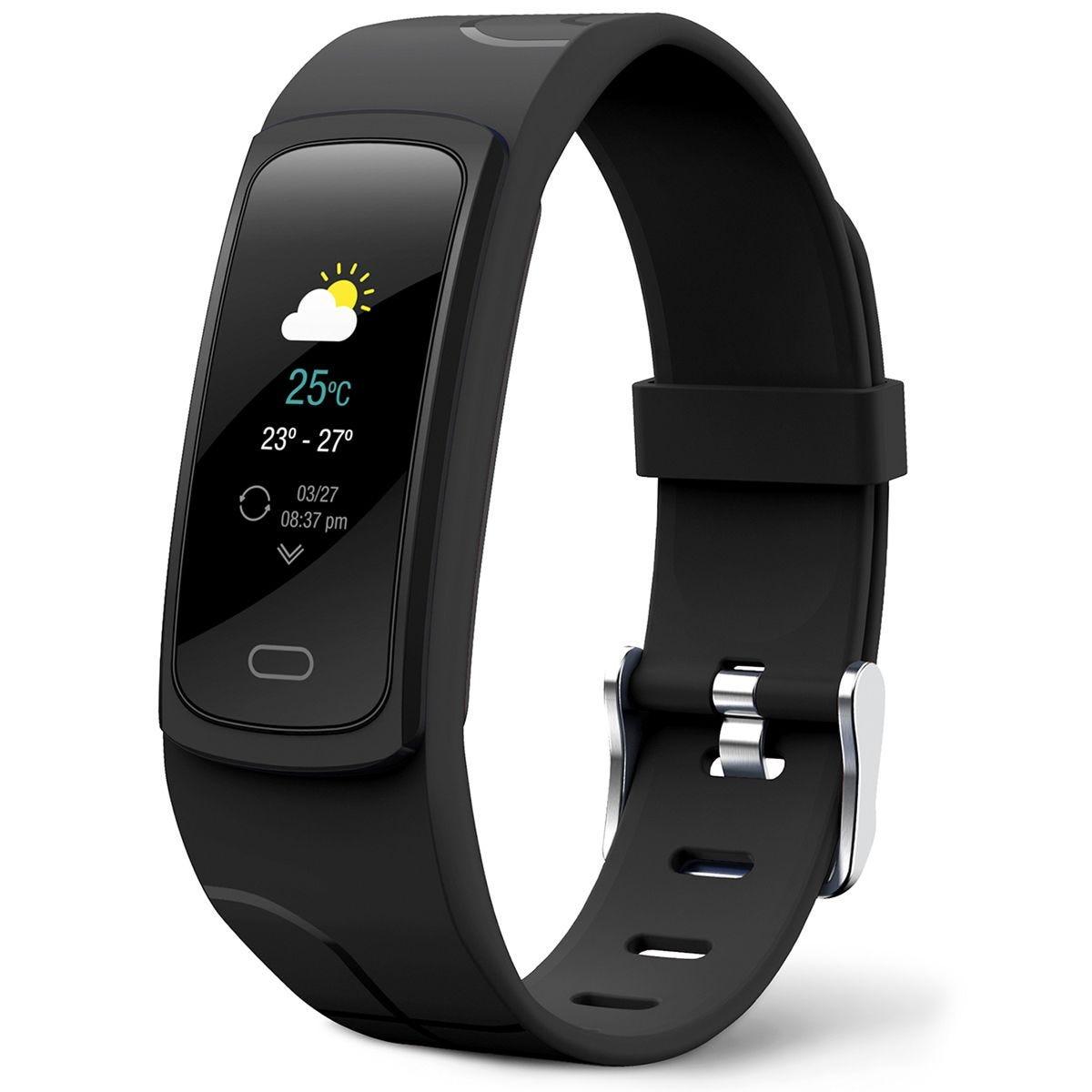 Mixx F1 Fitness Tracker Bracelet - Midnight Black