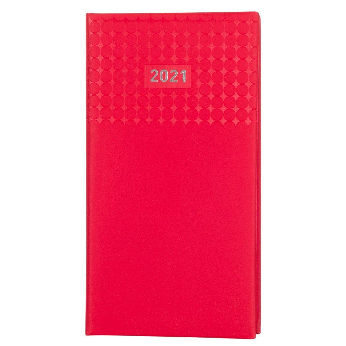 Ryman Langham Diary Week to View Slim 2021 - Red