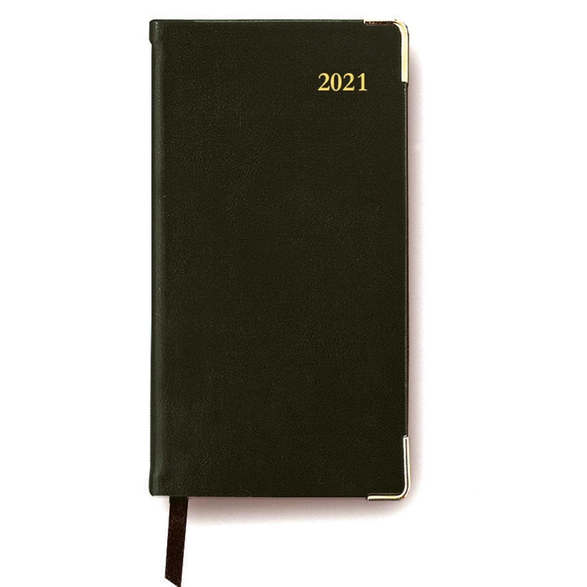 Collins Classic Appointments Diary Slim Week to View 2021 - Black