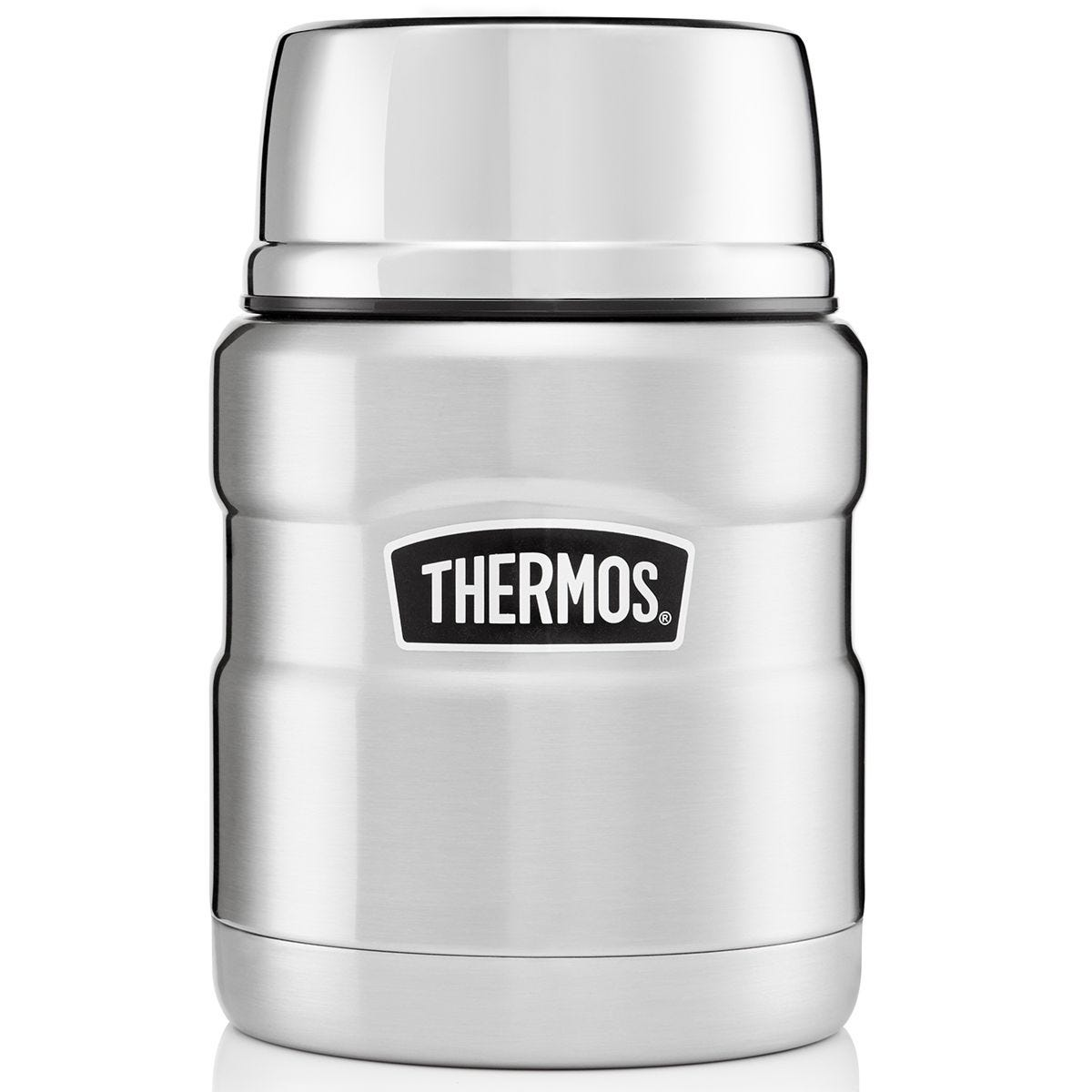 Thermos Stainless King Food Flask 470ml  - Stainless Steel