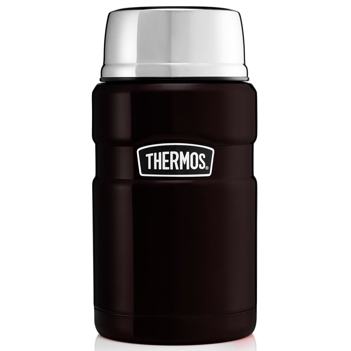 Thermos Stainless King Food Flask 710ml - Black