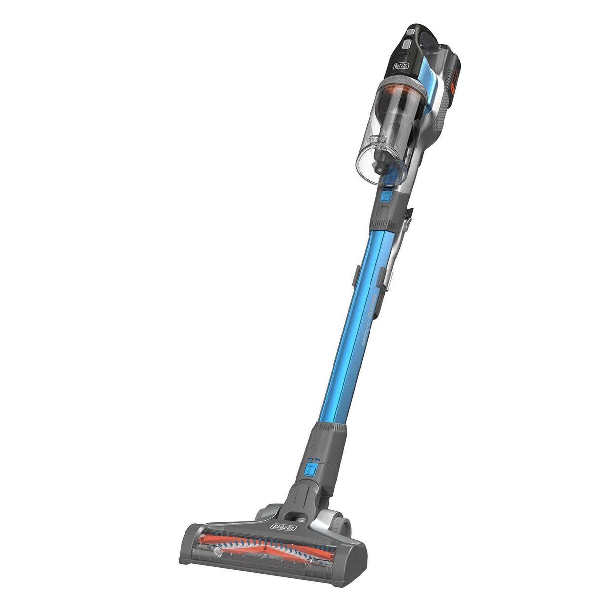 Black & Decker BHFEV362D-GB PowerSeries Floor Extension Cordless Stick Vacuum Cleaner - Grey