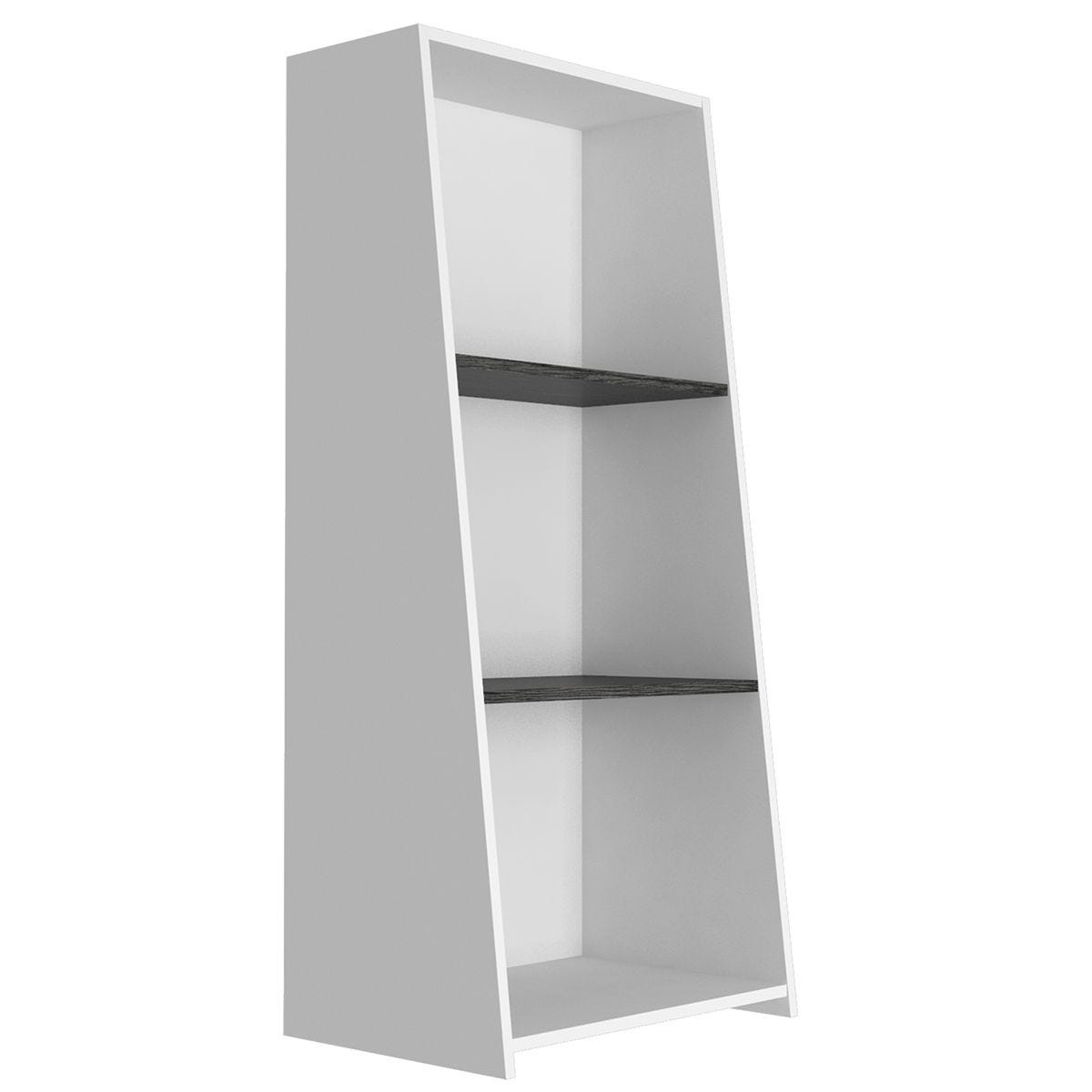 Dallas Home Office Low Bookcase,  3 Shelves