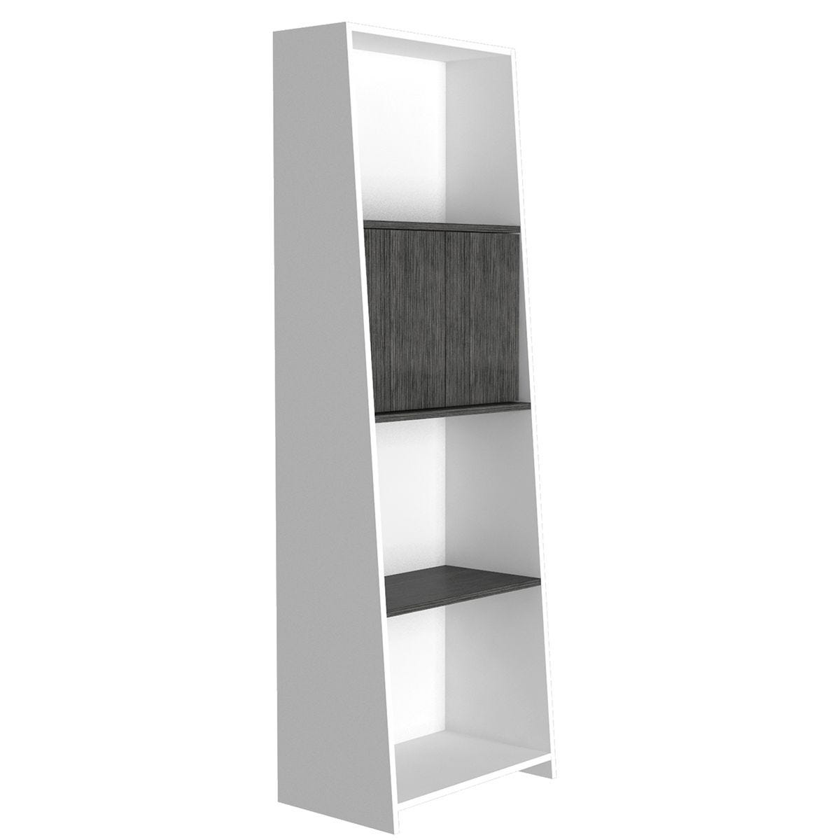 Dallas Home Office Bookcase with Doors