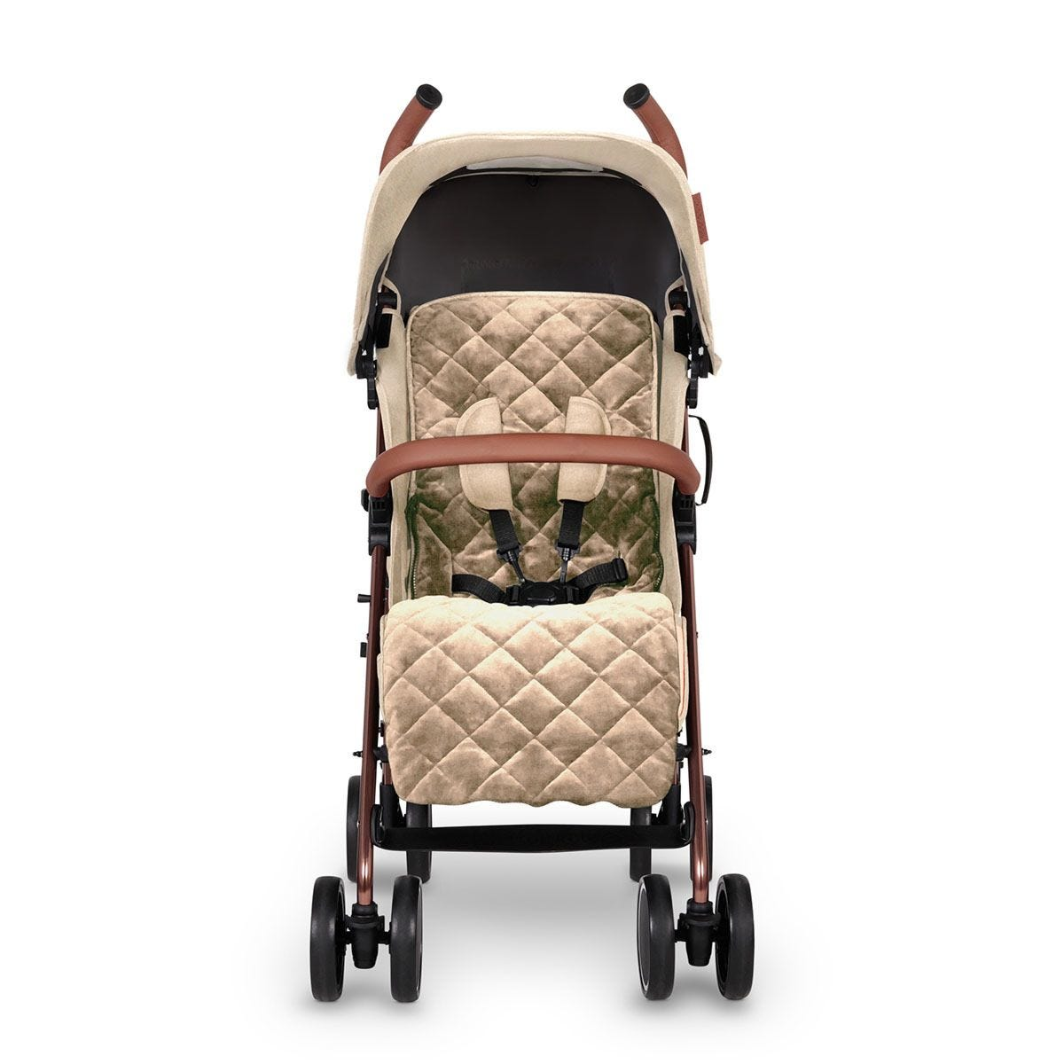 Ickle Bubba Discovery Prime Stroller - Cream on Rose Gold