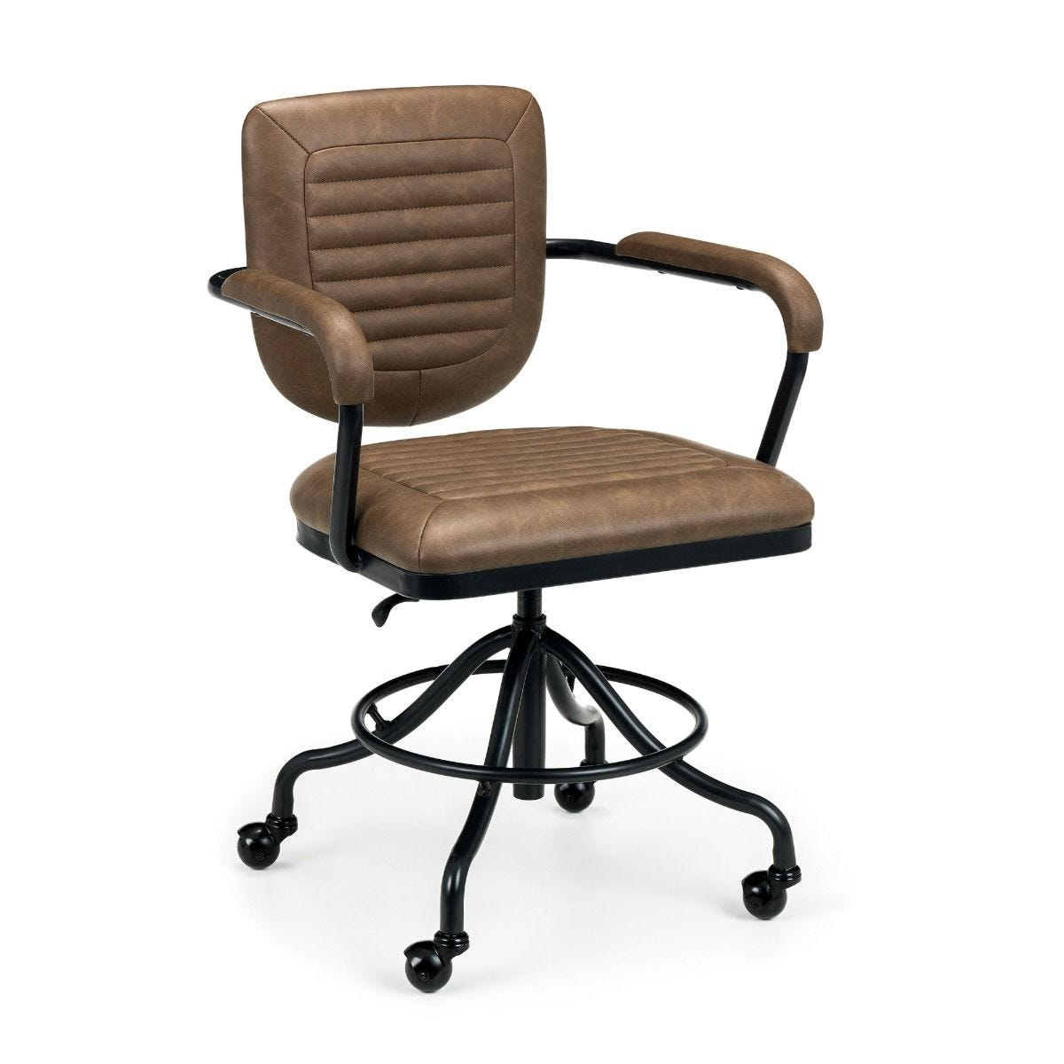 Julian Bowen Gehry Faux Leather Office Chair
