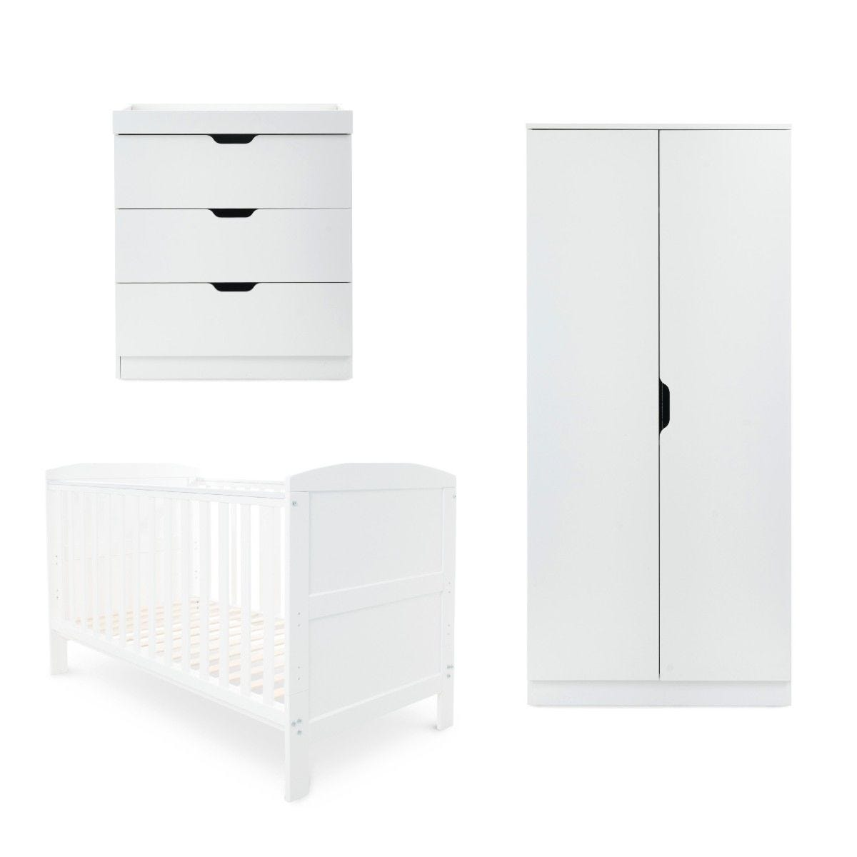 Ickle Bubba Coleby Classic 3 Piece Furniture Set White