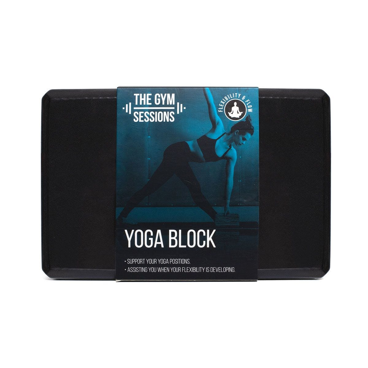 The Gym Sessions YOGA Block - Black