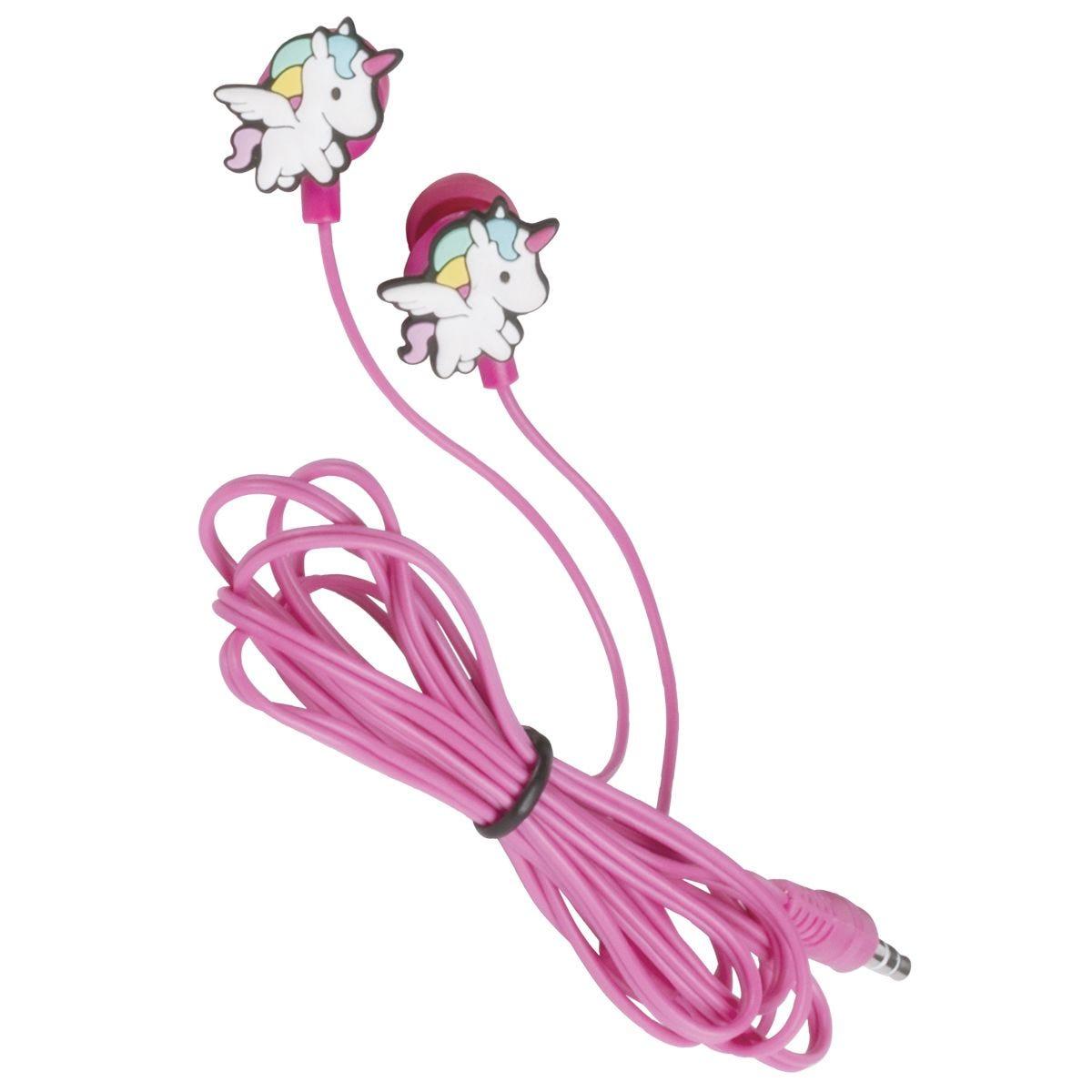Konix Uni-k Unicorn Gaming Earphones - Pink