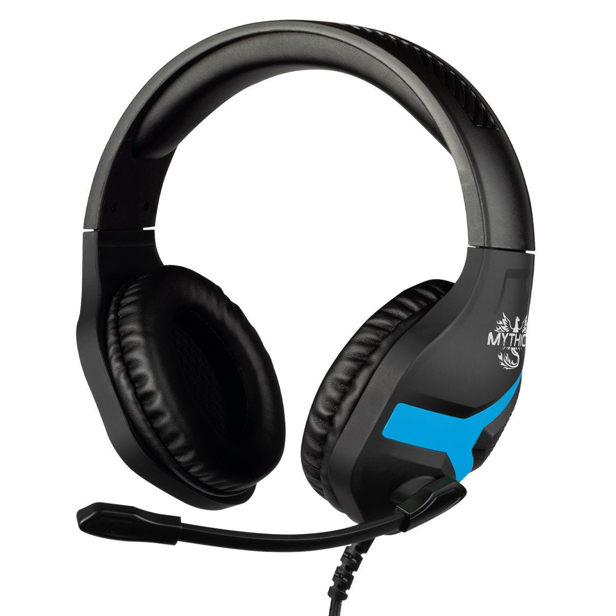 Konix Mythics Nemesis Gaming Headset - Black/Blue