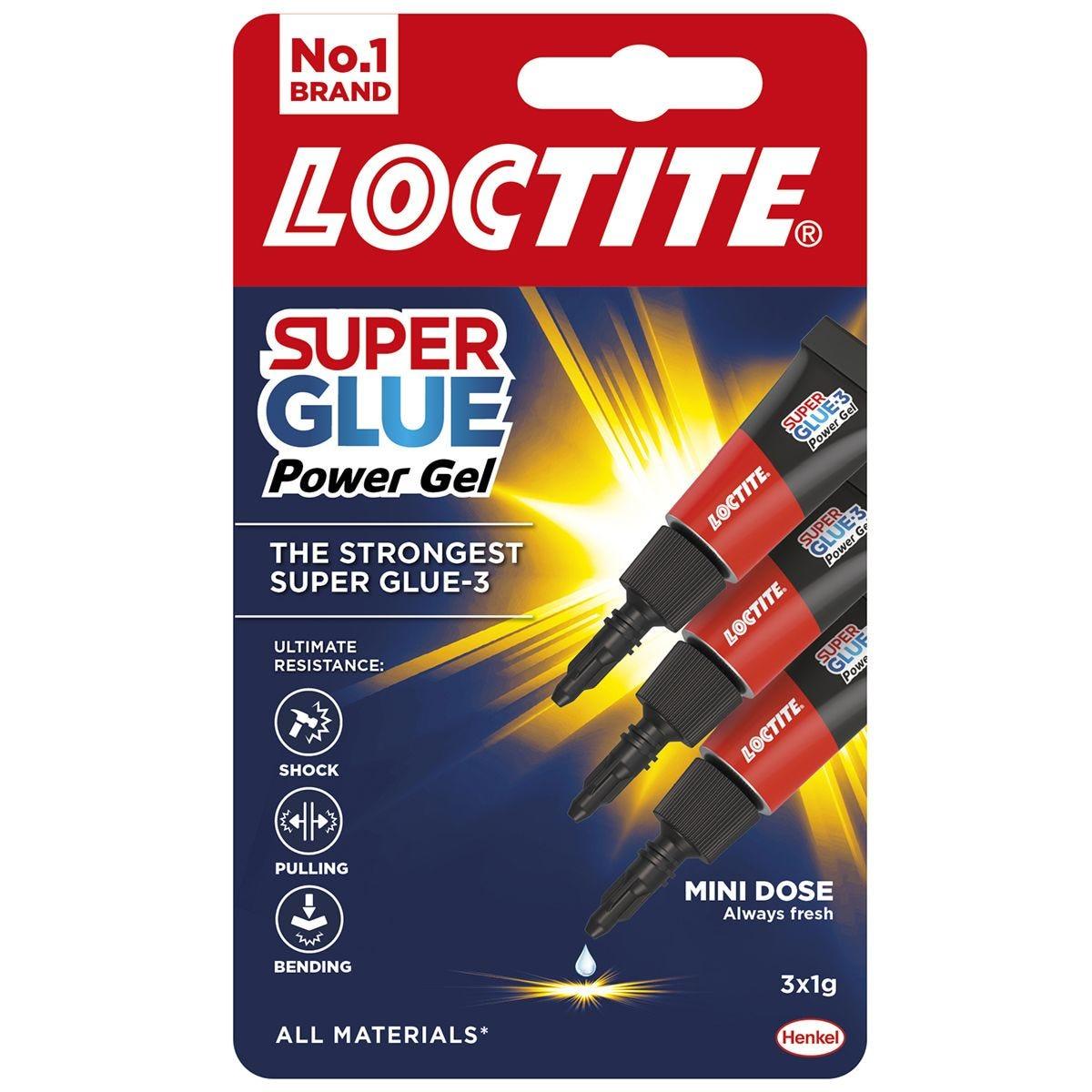 Loctite Power Gel Mini Trio 3x1g