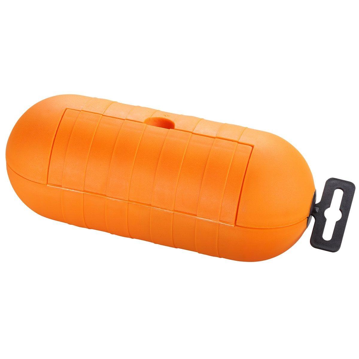 Masterplug Splashproof Torpedo Plug + Socket Cover - Orange