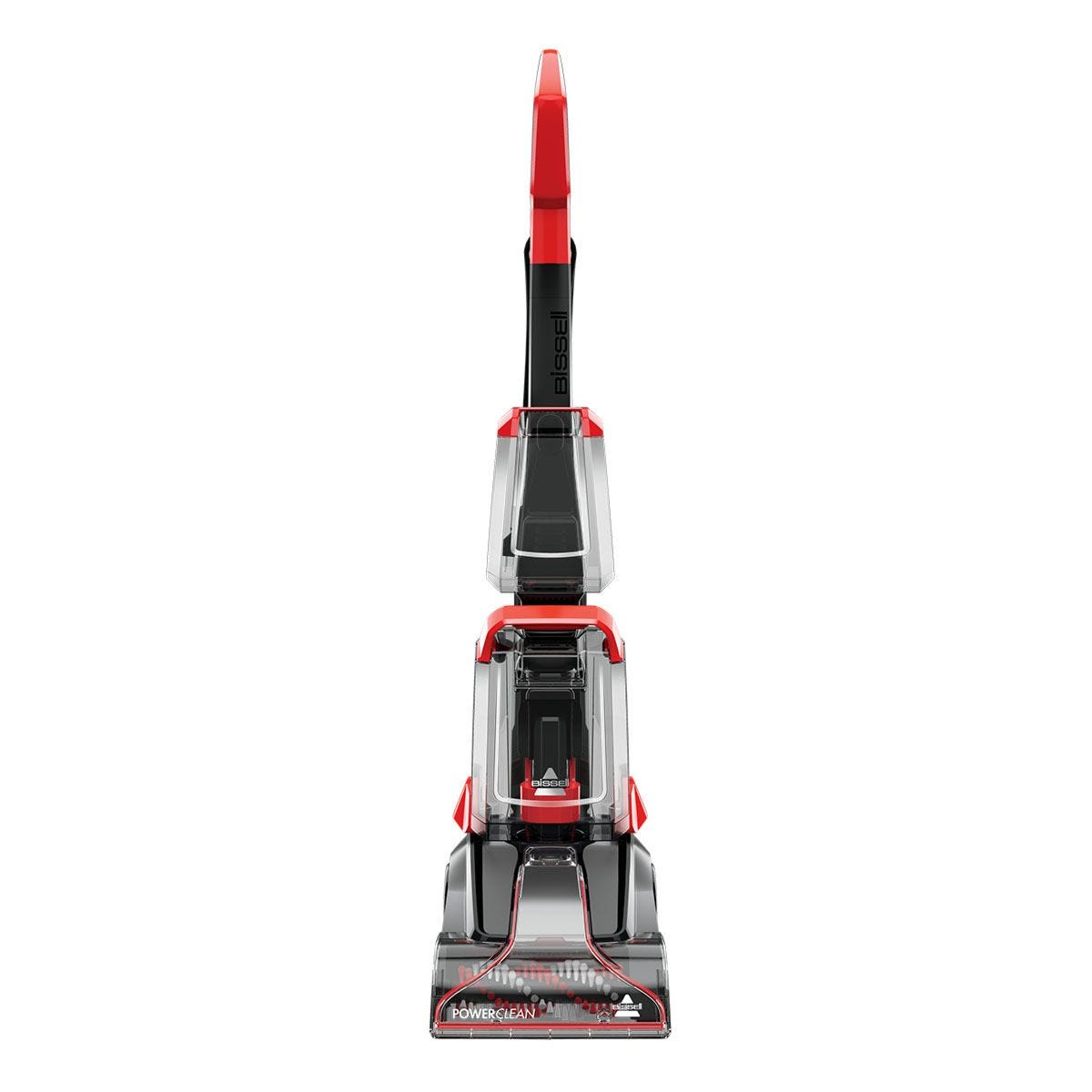 BISSELL 2889E Powerclean Carpet Cleaner - Titanium & Manbo Red
