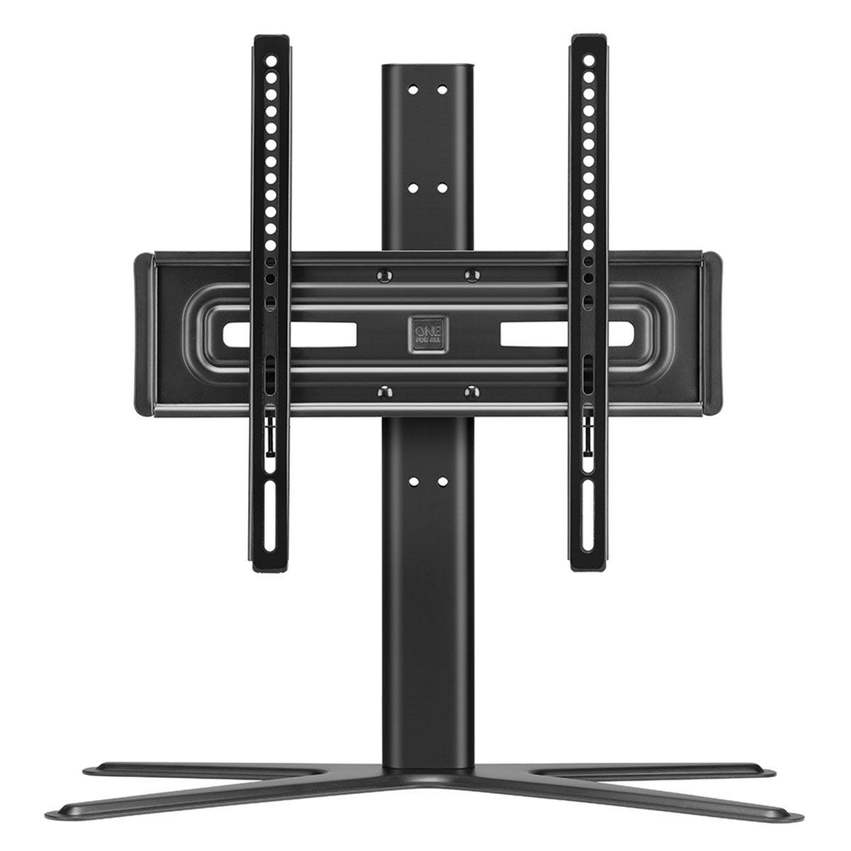 One For All Solid Table Top TV Stand for Screen Size for 32-65 inch - Black