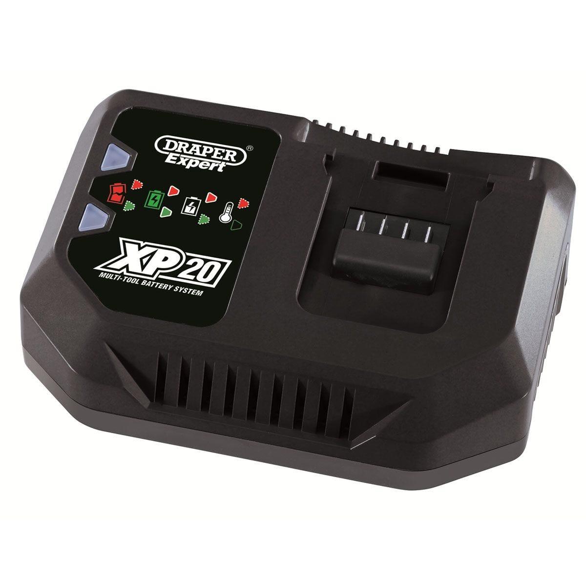 Draper XP20 20V Fast Battery Charger