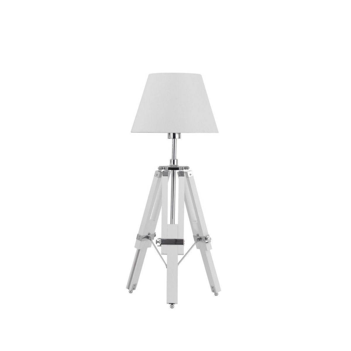 Feature Lamp - White Tripod Base