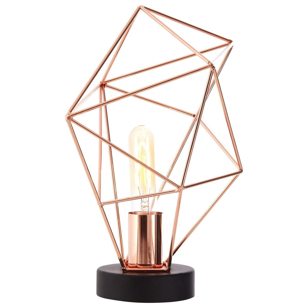 Table Lamp - Copper Finish
