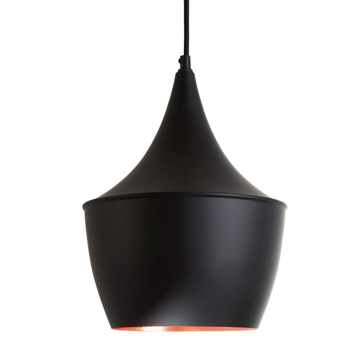 Pendant Light - Black/Gold Aluminium