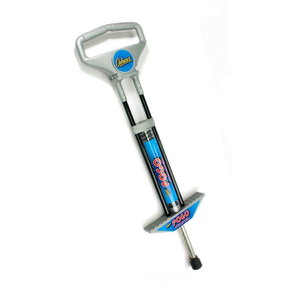 Ozbozz Pogo Stick 100cm Black and Silver
