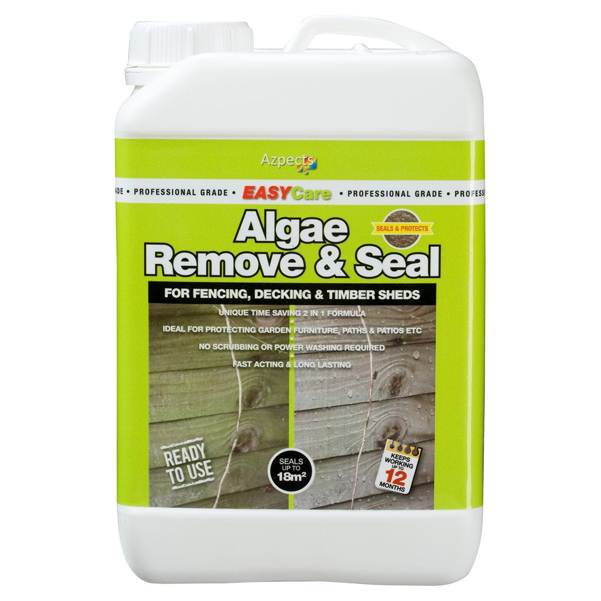 Azpects EASY Algae Remove & Seal - 3L