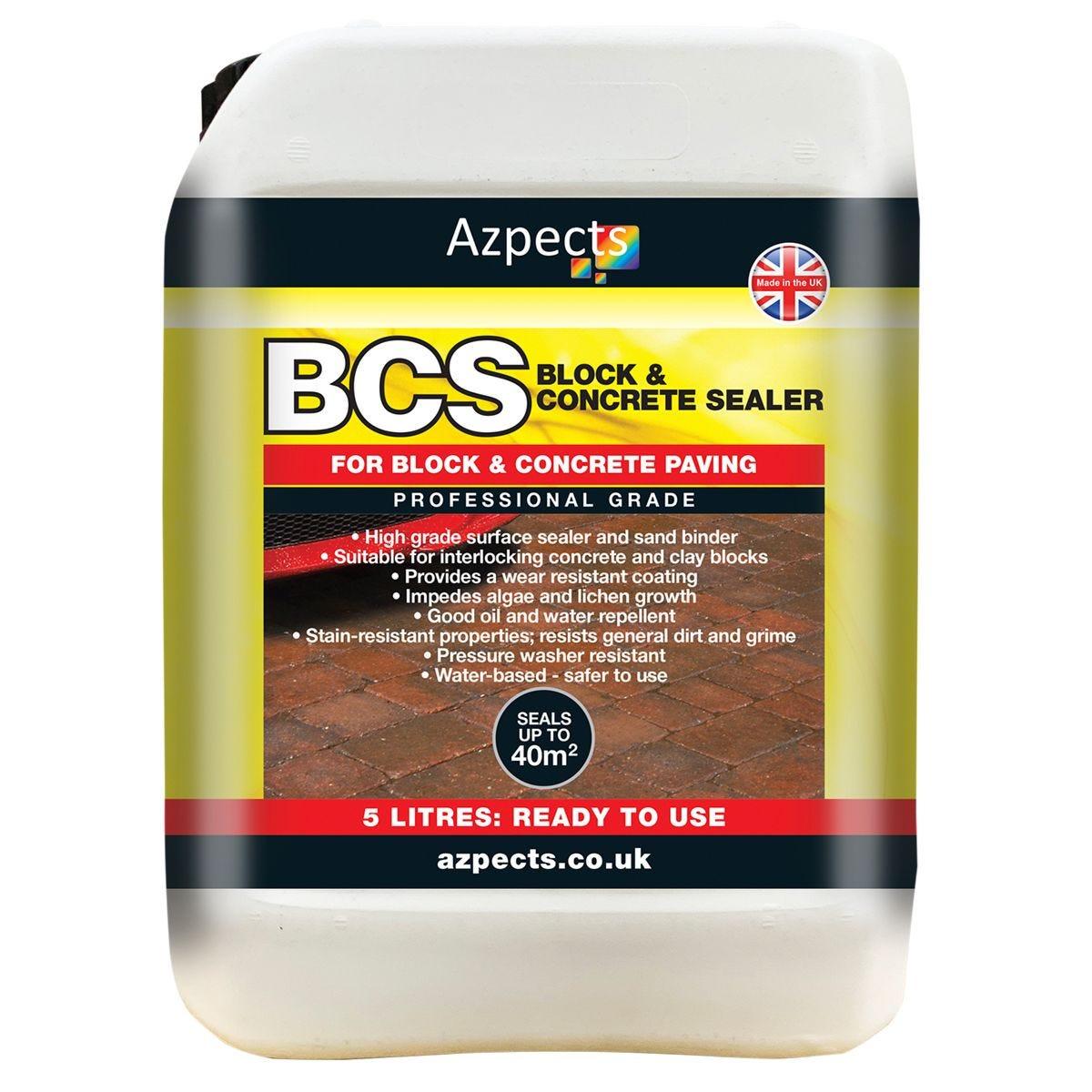 Azpects EASY Seal BCS Block & Concrete Sealer - 5L