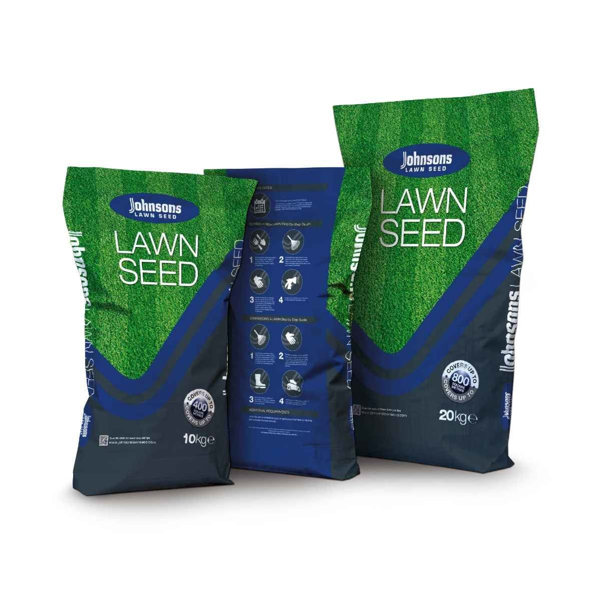 Johnsons Lawn Seed Tuffgrass with Dog Patch Resistance - 10KG-400SQM