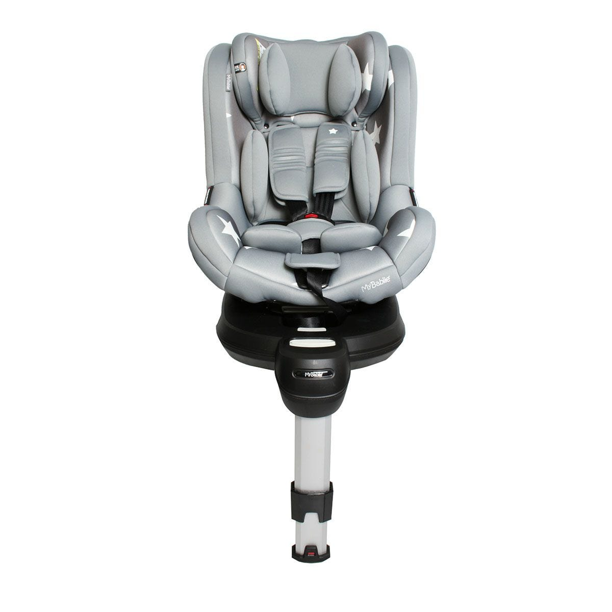 My Babiie Orbit Group 0+/1 Spin Car Seat - Grey Stars