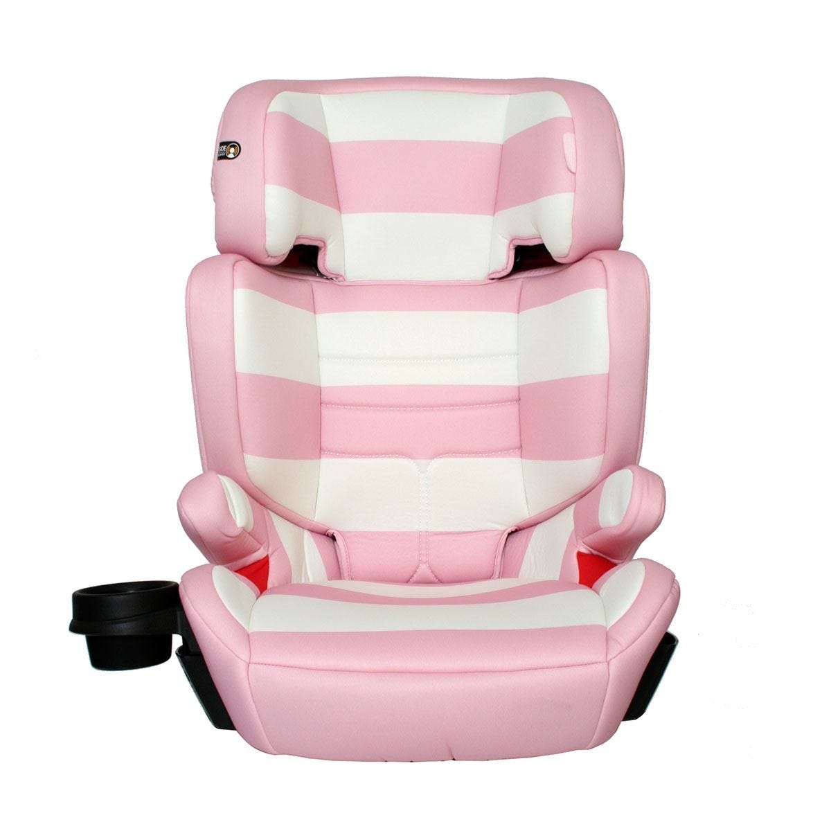 My Babiie Group 2 3 Car Seat - Pink Stripes