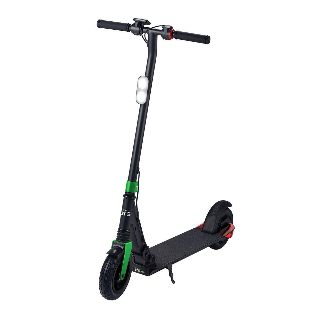 Li-Fe 250 Lithium Scooter - Black & Green