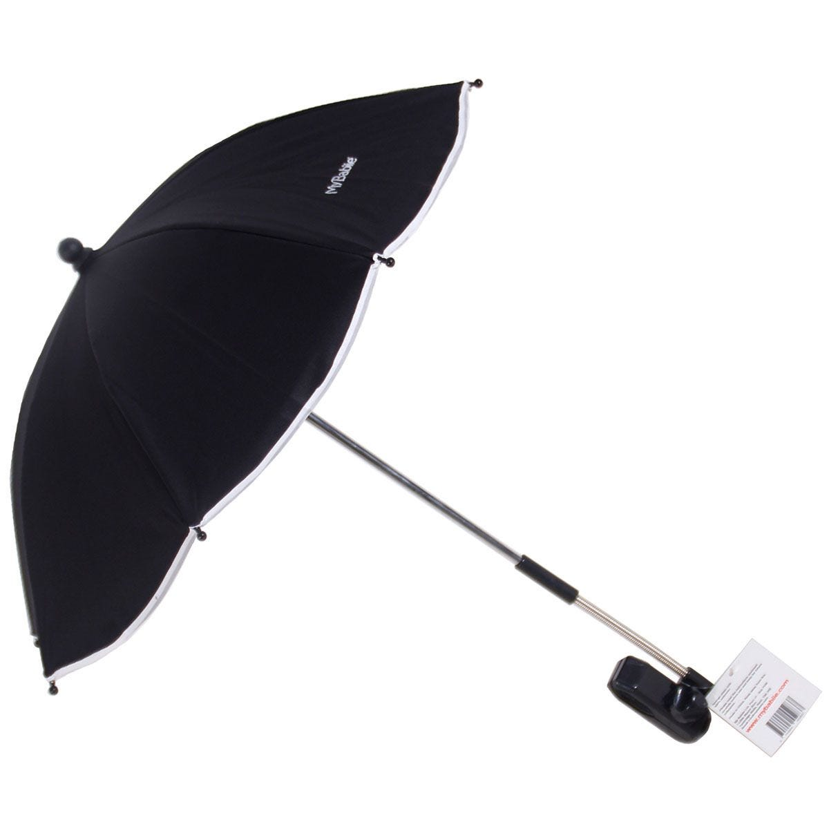 My Babiie Pushchair Parasol - Black