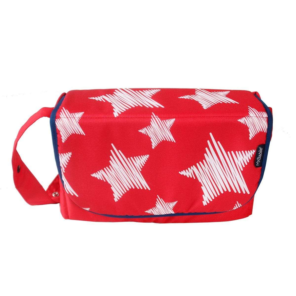 My Babiie Changing Bag - Red Stars